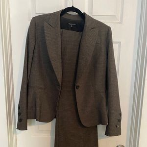 Chocolate brown Gianni Bini pant suit